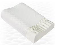 Подушка ортопедическая ТРИВЕС Т.705 (ТОП-205) массаж из натур латекса детская под голову