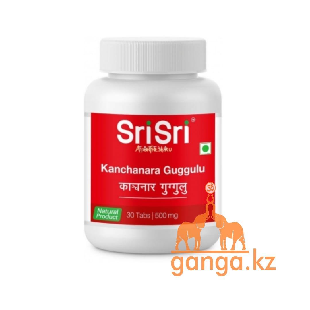 Канчнар Гуггул при заболеваниях лимфотической системы (Kanchanara Guggulu SRI SRI TATTVA), 30 таб