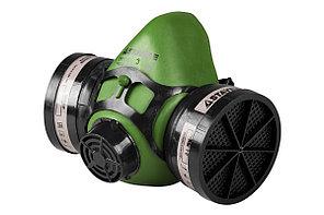 Полумаска STAYER 11175 HF-6000 фильтрующая противогазная в комплекте с фильтрами А1