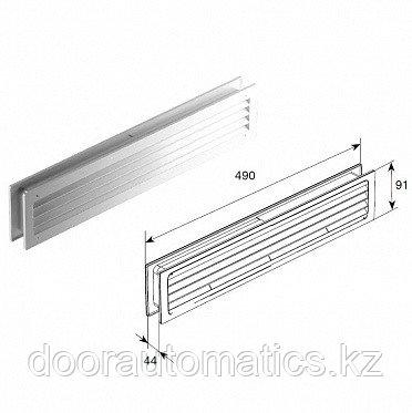 Решетка вентиляционная переточная для панелей 40мм