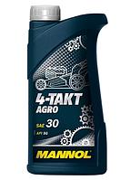 Масло для 4-х тактных двигателей MANNOL 4-Takt Agro SAE 30 1L