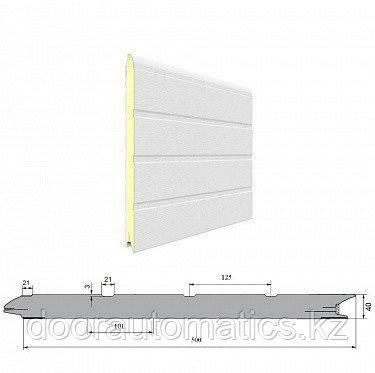 Панель «Доска» с ЗЗП 500 мм Дерево/Стукко