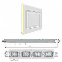 Панель «Филенка» с ЗЗП 500 мм Дерево/Стукко