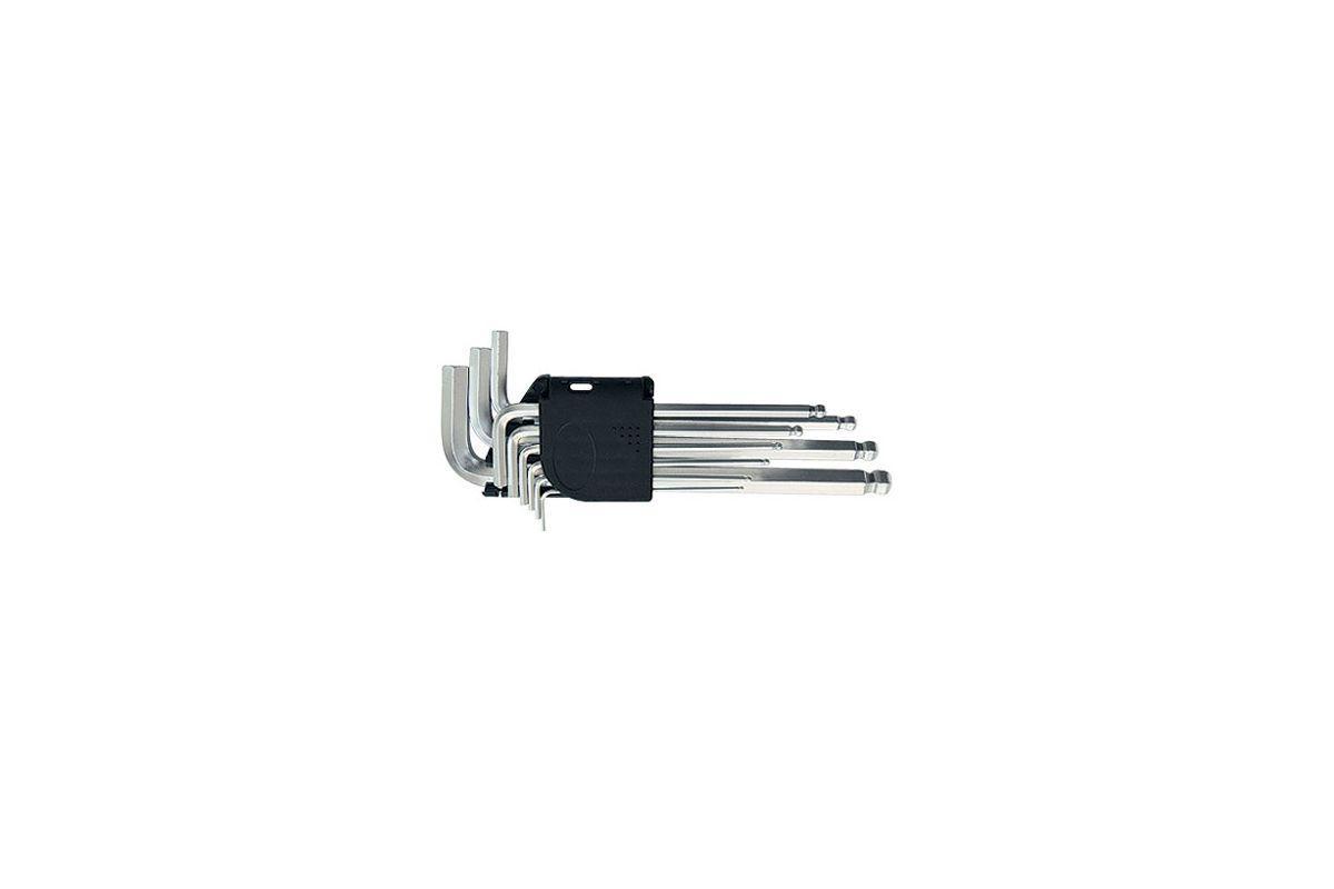 Набор ключей MATRIX 11233 Hexagon 1.5-10 мм 9 шт. Cr-V сталь