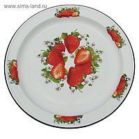 Блюдо «Клубника садовая», 47,5 см, 5 л