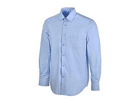 Рубашка Houston мужская с длинным рукавом, голубой