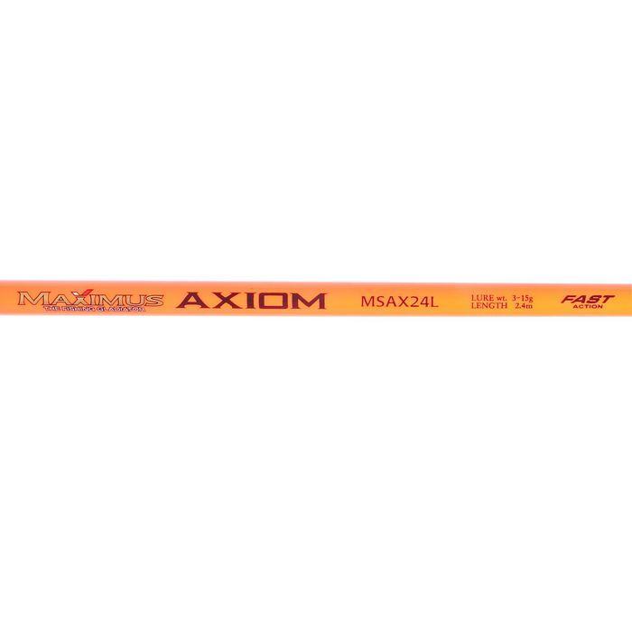 Спиннинг Maximus Axiom 24L, длина 2,4 м, тест 3-15 г - фото 3