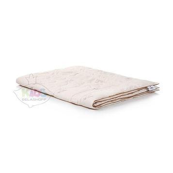 Одеяло легкое Belashoff Kids, 110х140, смесовая ткань, овечья шерсть, хлопок 40%, полиэстер 60%