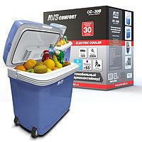 Холодильник автомобильный AVS CC-30B, 30 л, 12В/220В