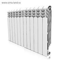 Радиатор алюминиевый Royal Thermo Revolution 500, 12 секций