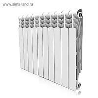 Радиатор биметаллический Royal Thermo Revolution Bimetall 500, 10 секций