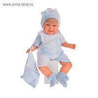 Кукла «Мартин» в голубом, озвученная, 55 см