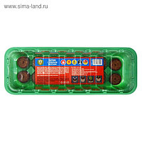 Мини-парник для рассады (24 × 12 × 5 см): торфяная таблетка d = 3,6 см, 14 шт.