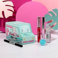 Бьюти-фургончик с косметикой Pink march, 5 классных штучек для идеального макияжа