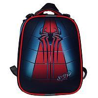 """Рюкзак каркасный, Stavia, 38 х 30 х 16 см, для мальчика, эргономичная спинка, """"Паук"""""""