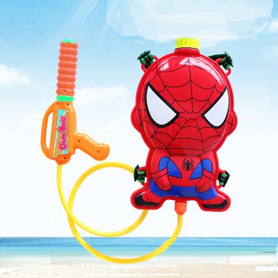 Водный пистолет рюкзак объем 2 литра Человек паук - фото 3