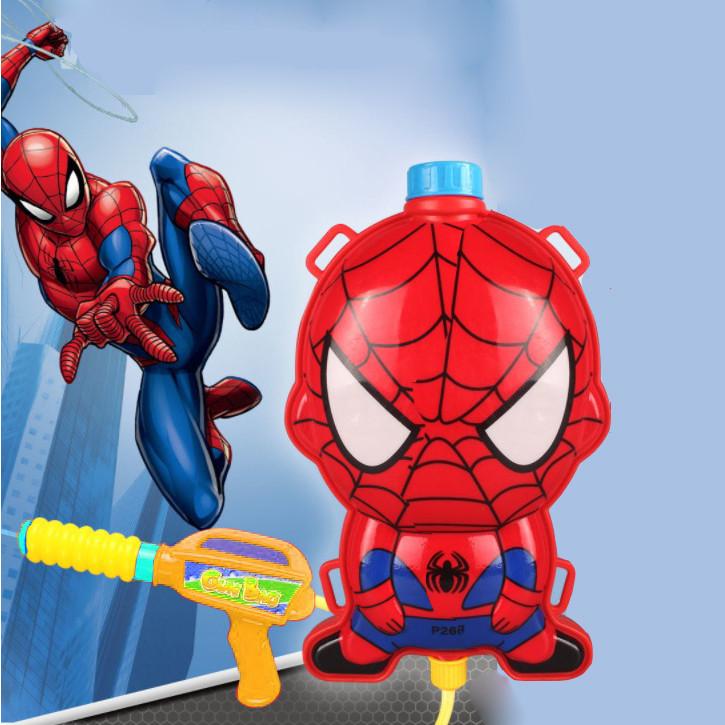 Водный пистолет рюкзак объем 2 литра Человек паук - фото 4