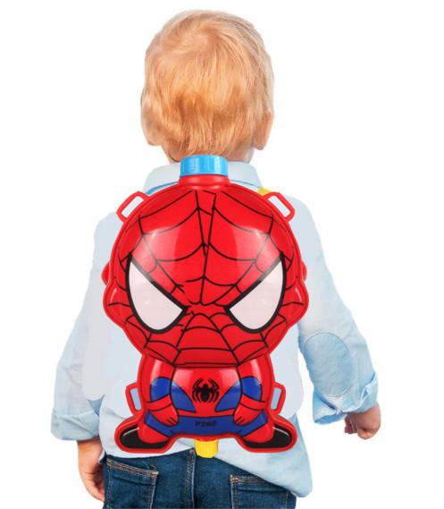Водный пистолет рюкзак объем 2 литра Человек паук - фото 8