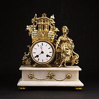 Каминные часы в стиле Историзм Часовая мастерская S. Marti & Cie