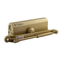Доводчик дверной НОРА-М №5S большой, цвет - золото (до 160кг) морозостойкий