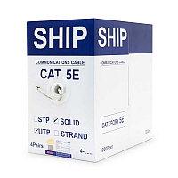Кабель UTP Cat 5e 305м 4x2x1/0.51мм SHIP (D135-P), фото 1