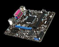 Материнская плата (S-1150) MSI B85 B85M-P33 V2 (DVI+VGA) LPT 1xPci-Ex16 2xPci-Ex1 2xDDR3 Glan