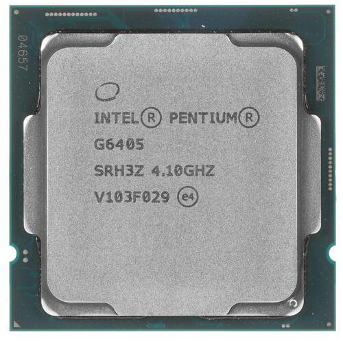 CPU Intel Pentium G6405 4,1 GHz 4Mb 2/4 Comet Lake Lake Intel® UHD Graphics 610 58W FCLGA1200 Tray