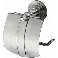 Держатель туалетной бумаги WasserKRAFT Ammer с крышкой Хром матовый (K-7025)