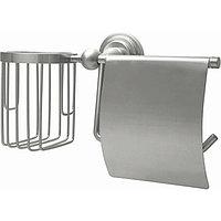 Держатель туалетной бумаги и освежителя воздуха WasserKRAFT Ammer Хром матовый (K-7059)