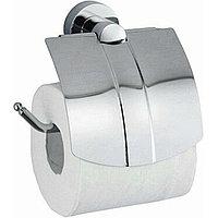 Держатель туалетной бумаги WasserKRAFT Donau с крышкой Хром (K-9425)