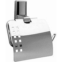 Держатель туалетной бумаги WasserKRAFT Leine с крышкой Хром ( K-5025)