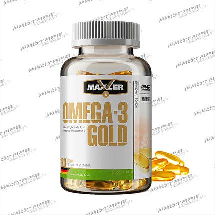 Омега-3 Maxler Omega-3 Gold (120 softgels), фото 2