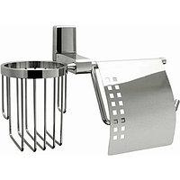 Держатель туалетной бумаги и освежителя воздуха WasserKRAFT Leine Хром (K-5059)