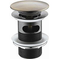 Донный клапан WasserKRAFT click-clack Светлая бронза (A046)