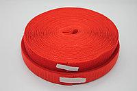 Липучка для одежды (красная) - 2,5 см.