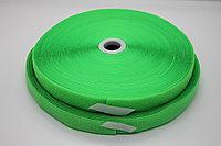 Липучка для одежды (зелёная) - 2,5 см.