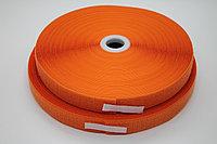 Липучка для одежды (оранжевая) - 2,5 см.