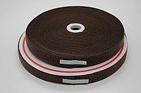 Липучка для одежды (коричневая) - 2,5 см.