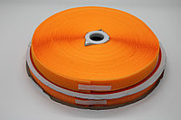 Липучка для одежды (светло - оранжевая) - 2,5 см.