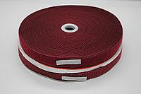Липучка для одежды (бордовая) - 2,5 см.