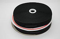Липучка для одежды (чёрная) - 3,5 см.
