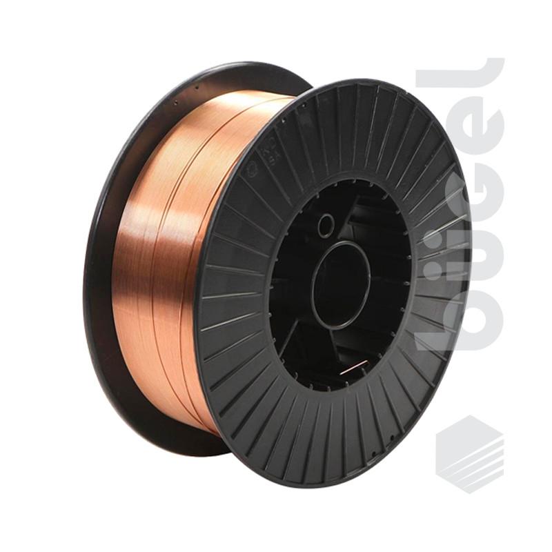 Проволока сварочная ER70S-6 d 1,0мм (бухта 15 кг.)