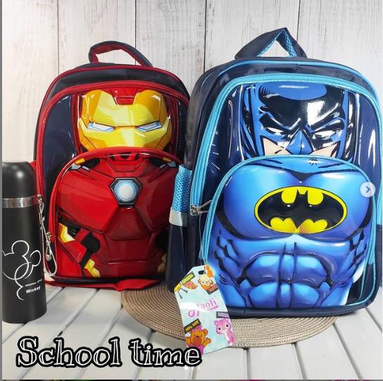 Школьные рюкзаки Супер Герои