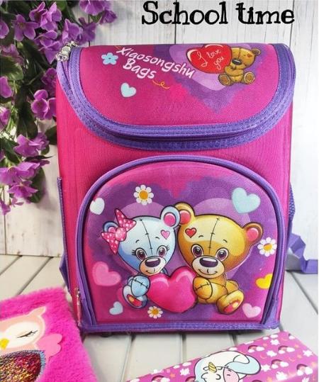 Школьный рюкзак-бокс для девочки