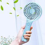 Ручной мини-вентилятор  аккумуляторный. Handy Mini Fan, фото 5