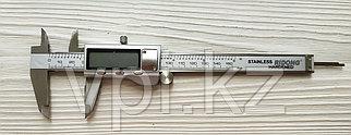 Штангенциркуль электронный, с глубиномером, 150мм.  RIDONG