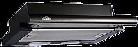 Вытяжка телескопическая Elikor Интегра 60Н-400-В2Л черный/черный