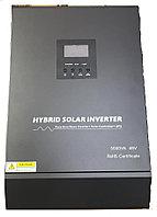 5KVA чистая синусоида гибридный солнечный инвертор 48В 220В встроенный PWM 50A Солнечный контроллер заряда