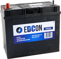 Аккумулятор EDCON DC45330L 45Ah 330A