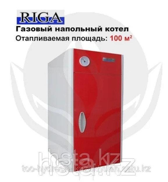 Газовый напольный котел ALEO КСГ-12, мощность 12 кВт до 120 м²